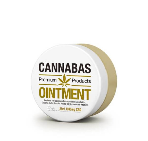 Cannabas Ointment 25mL 1000